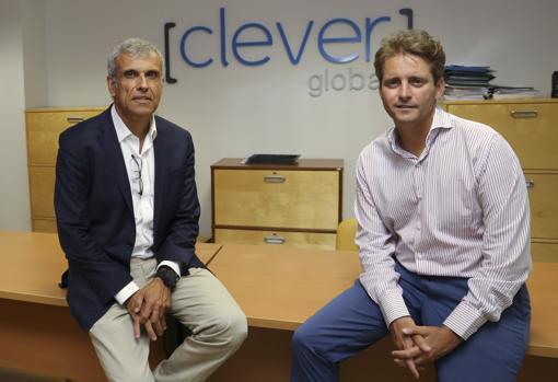 Juan Martínez Tejada -a la izquierda- y Ángel González Bravo, socios del fondo Alter Capital