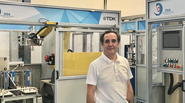 Pedro Frutos, gerente y socio fundador de Desarrollo de Sistemas Avanzados (DSA), con sede en Jerez de la Frontera