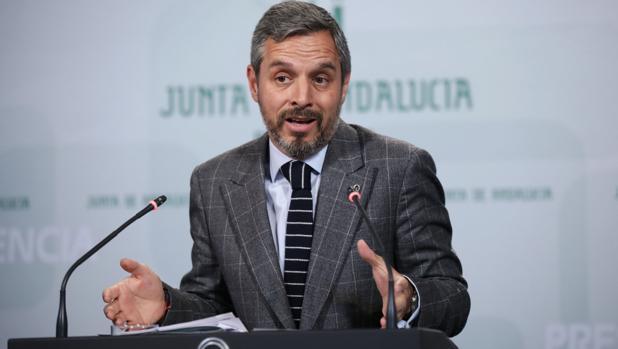 Juan Bravo, consejero de Hacienda, Industria y Energía de la Junta