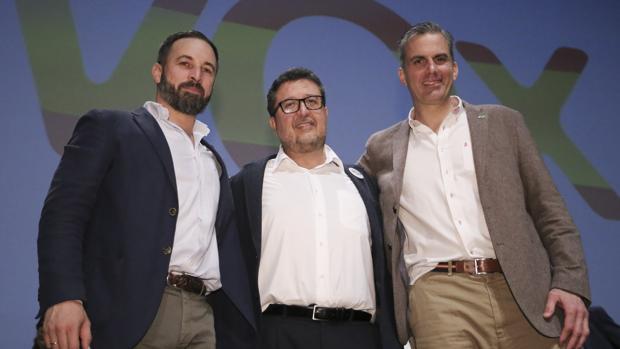 Abascal, Serrano y Ortega, de VOX