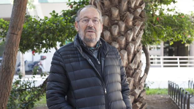 Enrique Linde, en Málaga