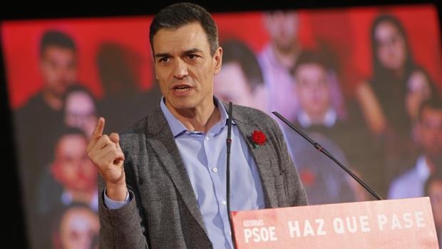 Pedro Sánchez intenta explotar la fractura entre PP y Ciudadanos en la recta final de la campaña