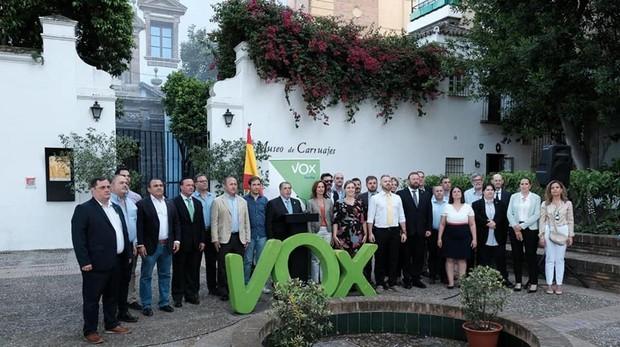 Los 28 candidatos de la provincia de Sevilla donde Vox se presenta a las elecciones municipales del 26-M