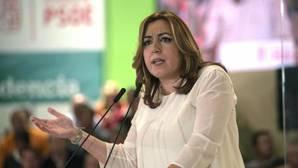 Susana Díaz: «Siempre ayudaremos a que el partido se levante lo antes posible»