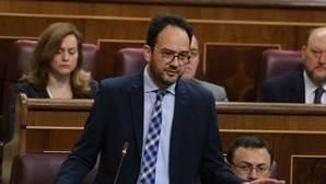 El portavoz parlamentario del PSOE, Antoniio Hernando