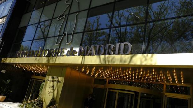 El hotel Barceló Torre de Madrid