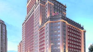 Riu asume el control del Edificio España: 400 millones para su primer hotel urbano