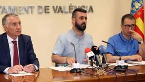 Imagen del concejal de Cultura Festiva y presidente de la Junta Central Fallera (JCF), Pere Fuset