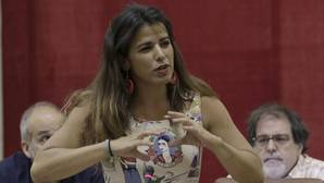 Teresa Rodríguez, líder de Podemos Andalucía