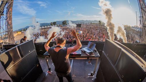 Imagen de uno de los DJ del festival Medusa Sunbeach