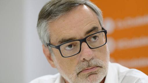 José Manuel Villegas, durante la entrevista con ABC