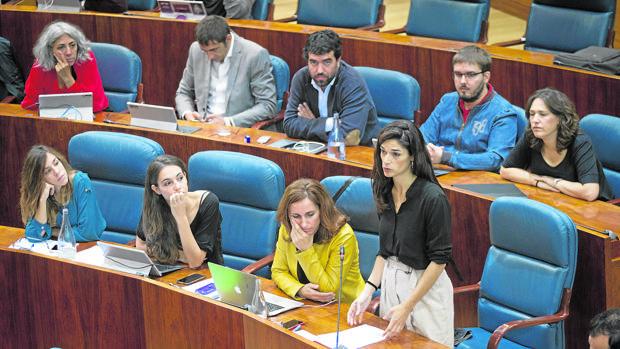 Cisma entre los diputados de Podemos en la Asamblea de Madrid