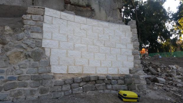 Expediente al Ayuntamiento por tocar sin permiso un muro protegido