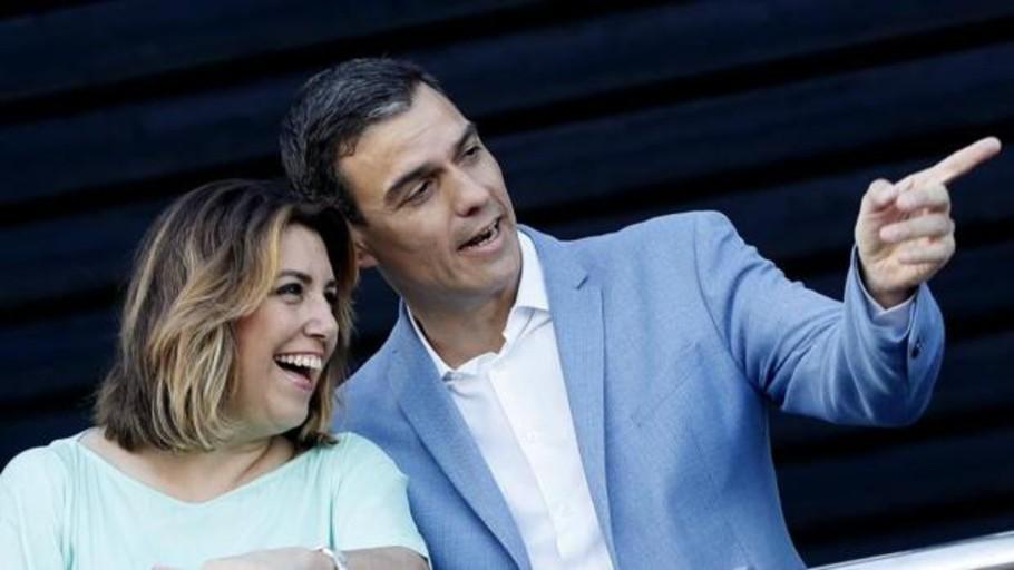 Las elecciones marcan el fin de la tregua entre Susana Díaz y Pedro Sánchez