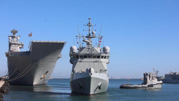 El Audaz prosigue con su misión incierta en el Mediterráneo