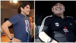 Los diez intentos de Maradona para ponerse guapo
