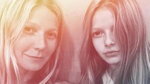 Gwyneth Paltrow y su hija Apple, como dos gotas de agua
