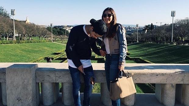 Matilde y su novio, Danny Graham, en una foto publicada en la cuenta de Instagram de la joven