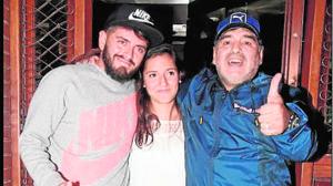 Maradona por fin reconoce a Diego Jr: «Sos mi hijo»