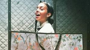 Georgina Rodríguez cuando trabajaba en Gucci