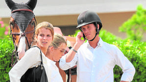Athina Onassis celebra el año con la compra de un carísimo caballo irlandés