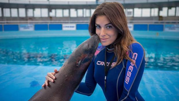 Gessica Notaro trabajaba como entrenadora de delfines
