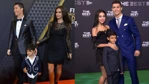 El juego de las diferencias entre las novias de Cristiano Ronaldo en la alfombra roja