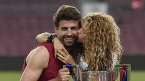 Shakira y Piqué entran juntos en una nueva década
