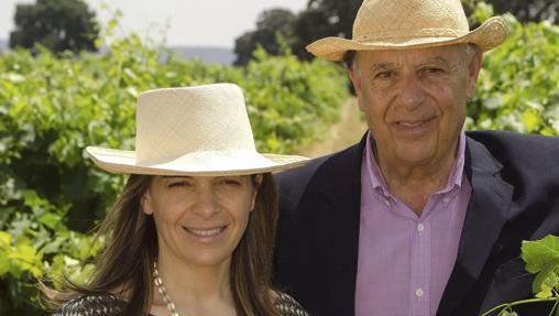 Xandra y su padre, Carlos Falcó