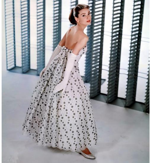 Audrey Hepburn, icono de la firma