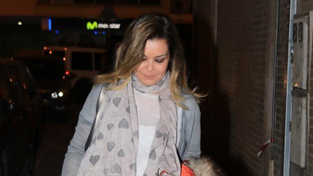 María José Campanario, el pasado mes de enero