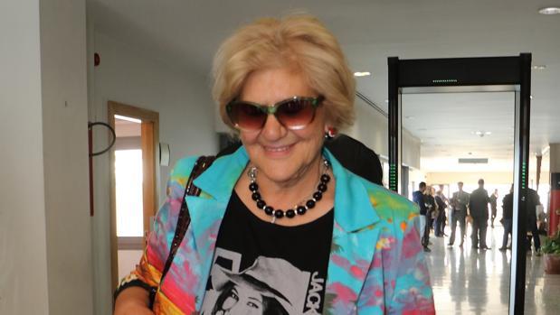 Carmen Bazán, durante un juicio en los Arcos de la Frontera en Cádiz este mes