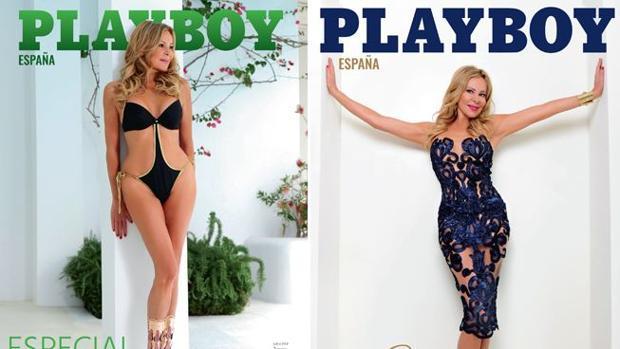 Ana Obregón en las dos portadas de la revista