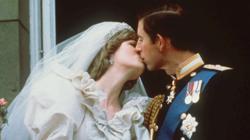 Diana de Gales y Carlos de Inglaterra, durante su boda en 1981