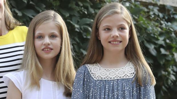 Las hijas de los Reyes, en Mallorca