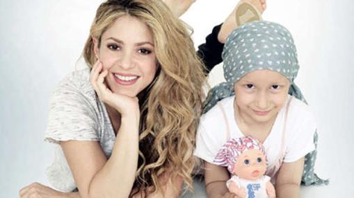 Shakira ha sido otra de las artistas que ha apoyado la campaña con su diseño