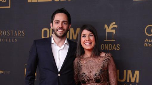 Teixidó y Guapo, durante la 62 edición los Premios Ondas 2015 en Barcelona