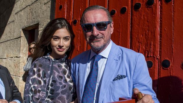 Rocío Crusset y Carlos Herrera