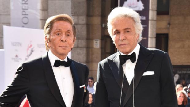 Giancarlo Giammetti y Velntino