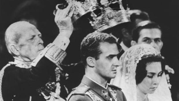 Boda del Principe Juan Carlos de Borbón y Sofía de Grecia