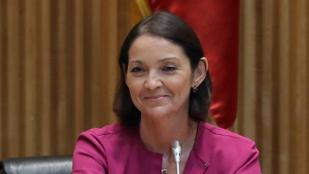 La ministra Reyes Maroto