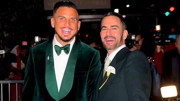 Char Defrancesco y Marc Jacobs