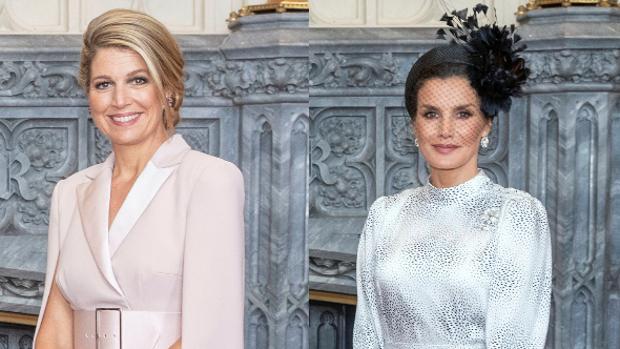 Doña Letizia brilla espectacular entre reinas y duquesas en Inglaterra