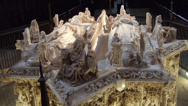 Sepulcro de Juan II de Castilla y de Isabel de Portugal en la Cartuja de Miraflores