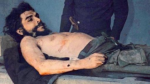 El Che Guevara, muerto