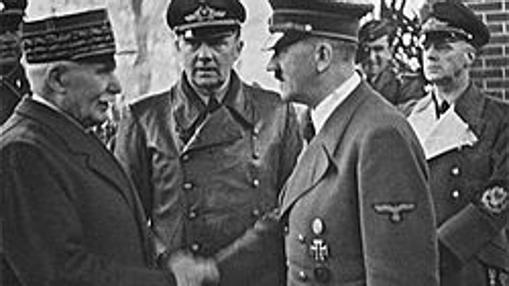 Encuentro entre Hitler y Pétaiin en 1940