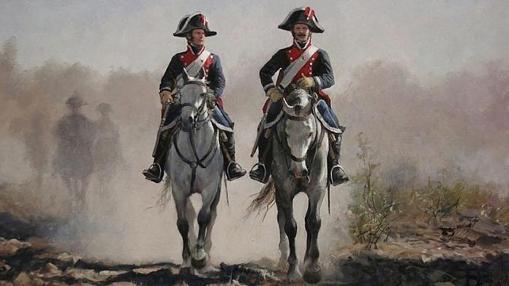 «Carabineros de la Guardia Real» (1805)