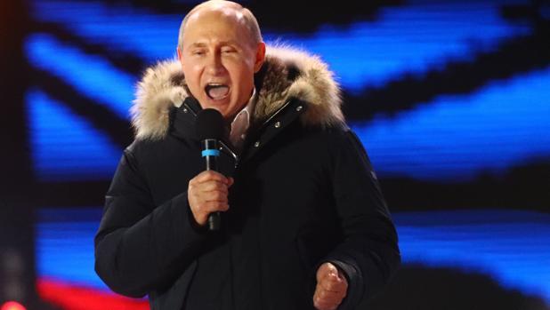 Putin arrasa en su reelección con más de un un 75 por ciento de los votos