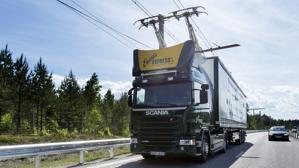 La primera carretera eléctrica del mundo es sueca
