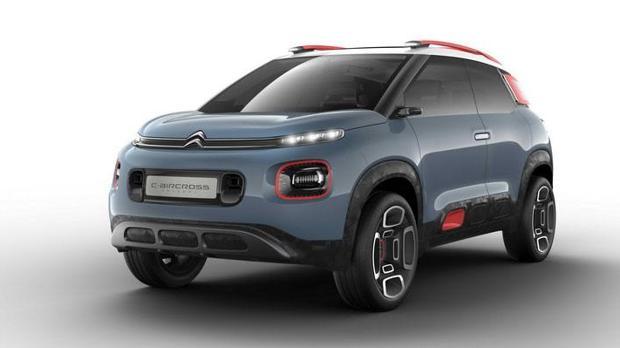 C-Aircross Concept, un SUV inspirado en el Citroën C3